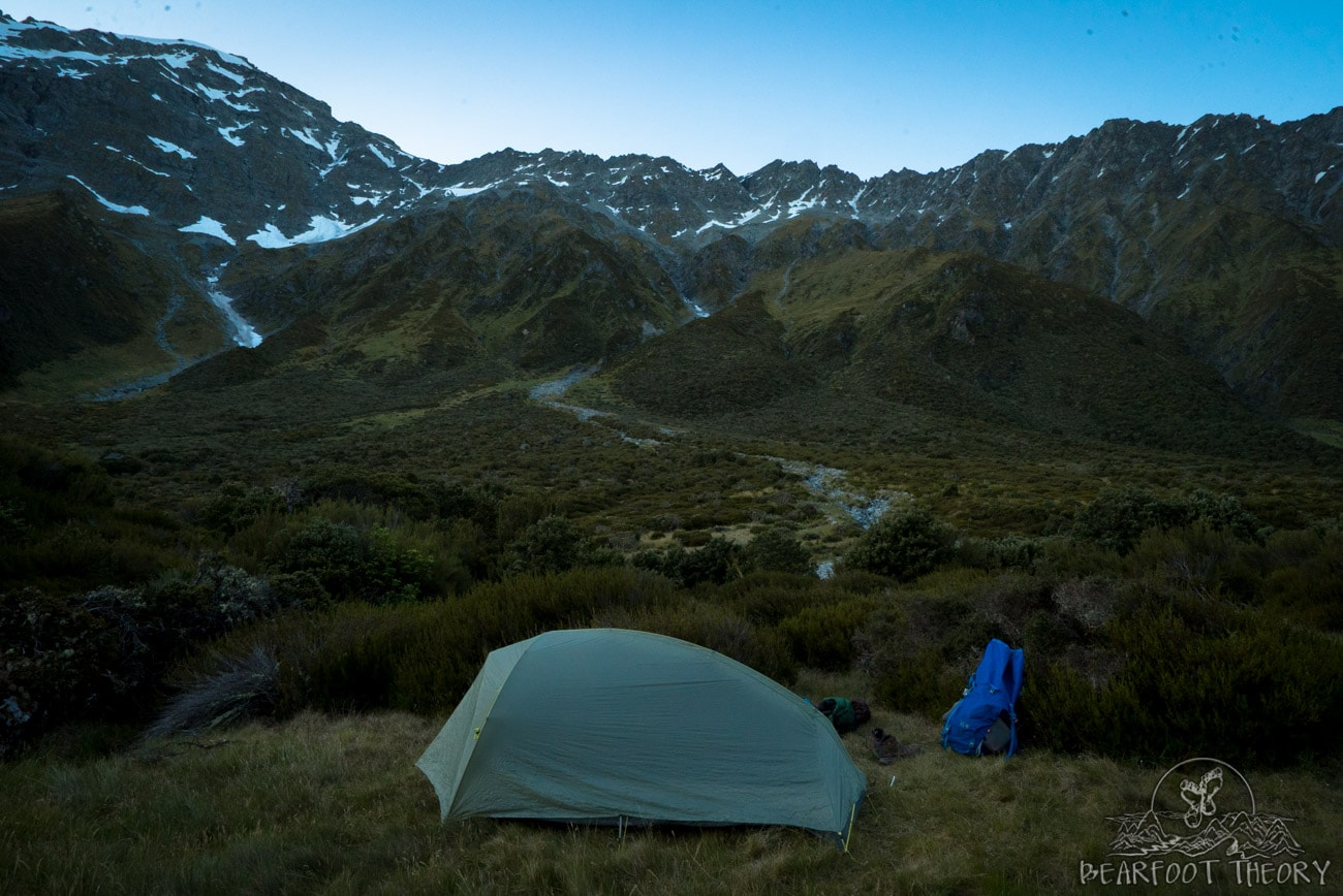 New Zealand Road Trip: Camping at the Shetler Hut in Mount Aspiring National Park