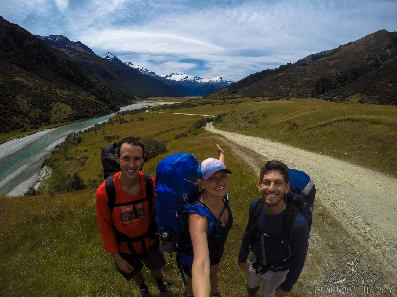 New Zealand Road Trip: backpacking in the Rees Valley in Mount Aspiring National Park
