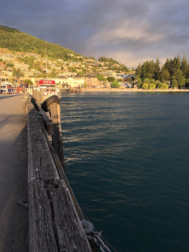 New Zealand Road Trip: the waterfront in Queenstown