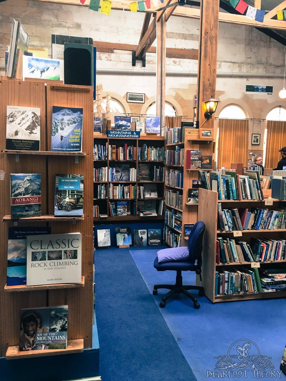 The Adventure Book store in Oamaru, New Zealand