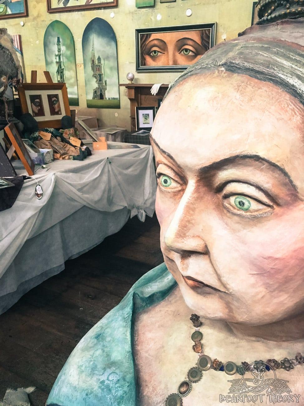 art gallery in Oamaru, New Zealand
