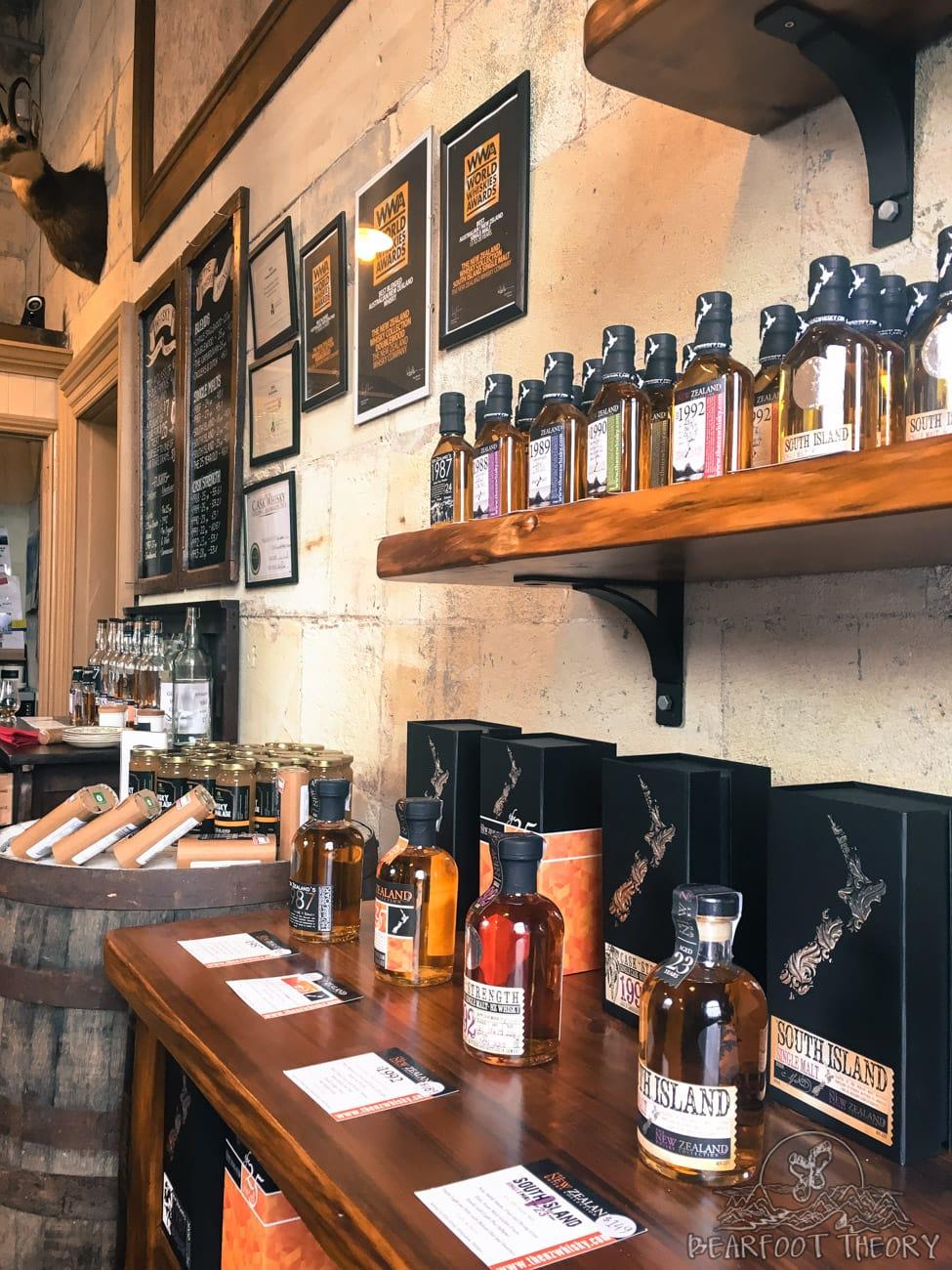 The New Zealand Whiskey Company tasting room in Oamaru