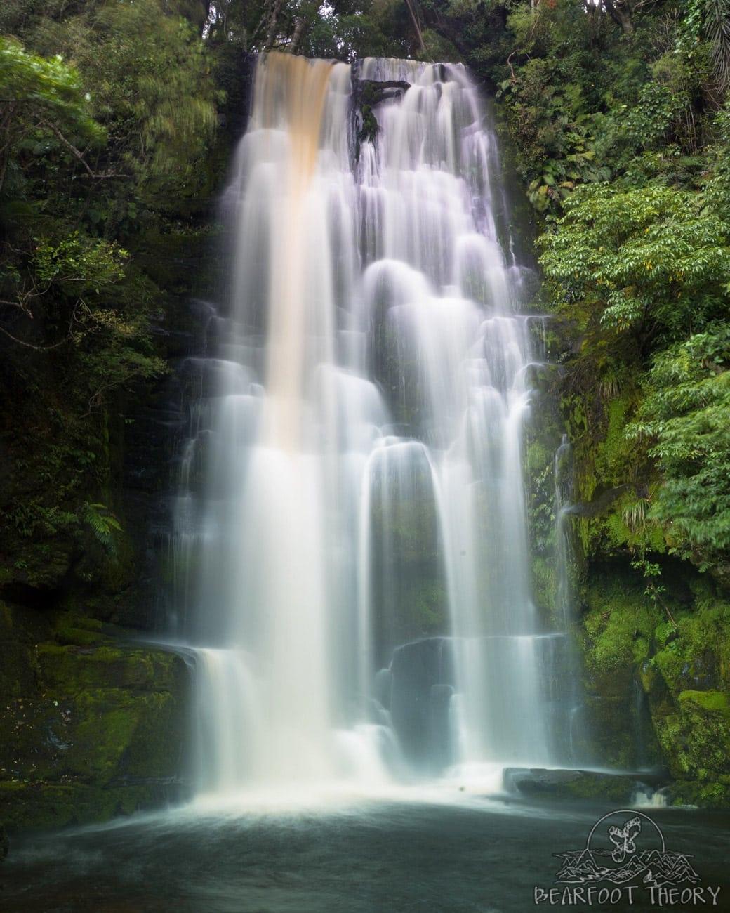 McLean Falls in the Catlins