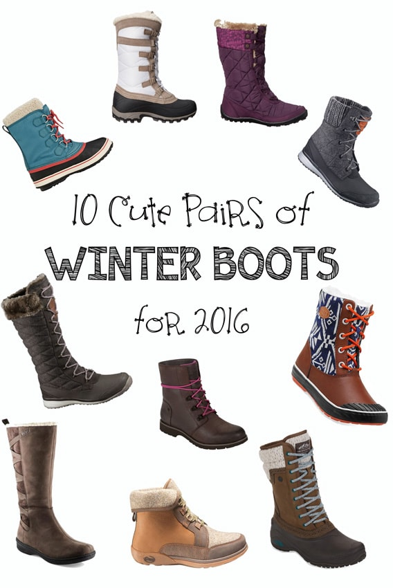 10 Pairs of Cute Winter Boots for 2016 - Bearfoot Theory