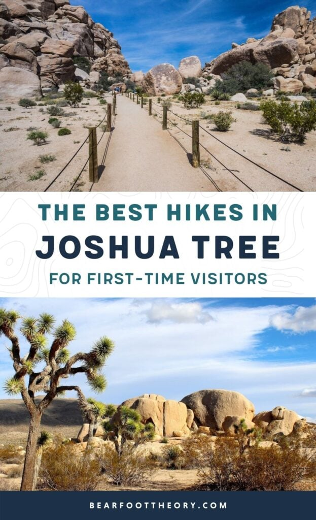 Headed to Joshua Tree National Park for the first time? Here's details on the 3 best Joshua Tree hikes, plus info on where to stay during your trip.