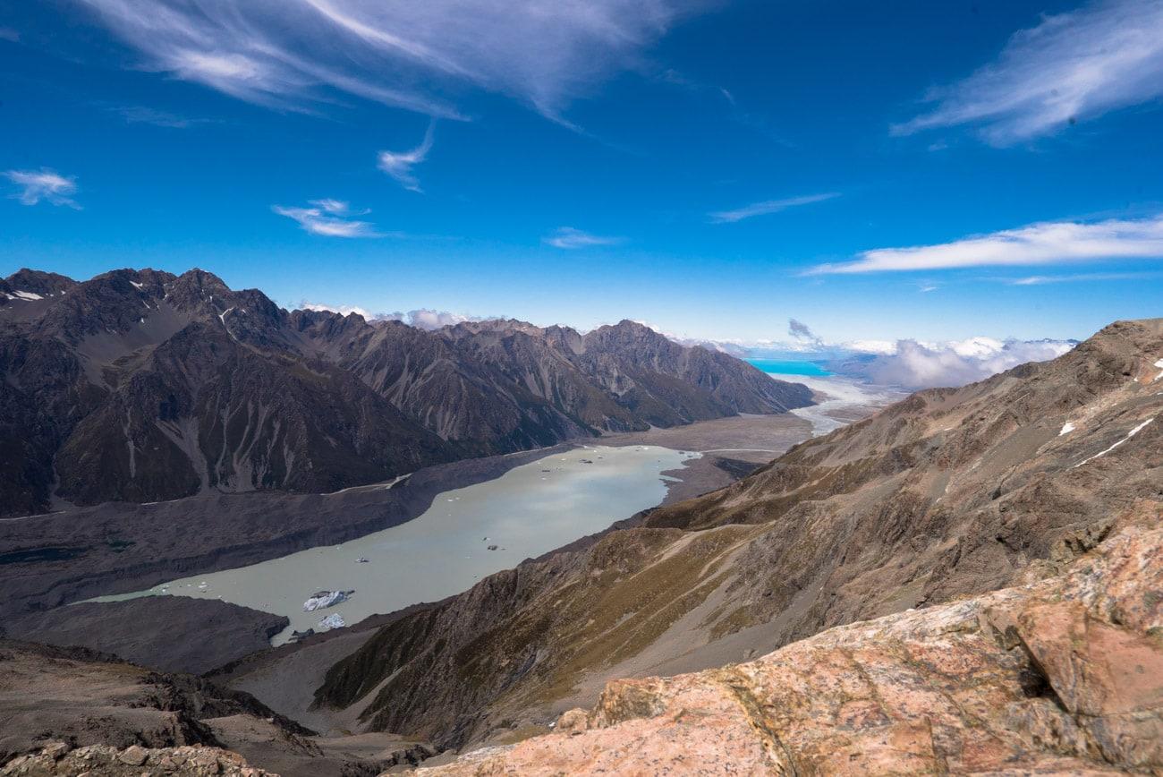 Tasman Lake in Mount Cook