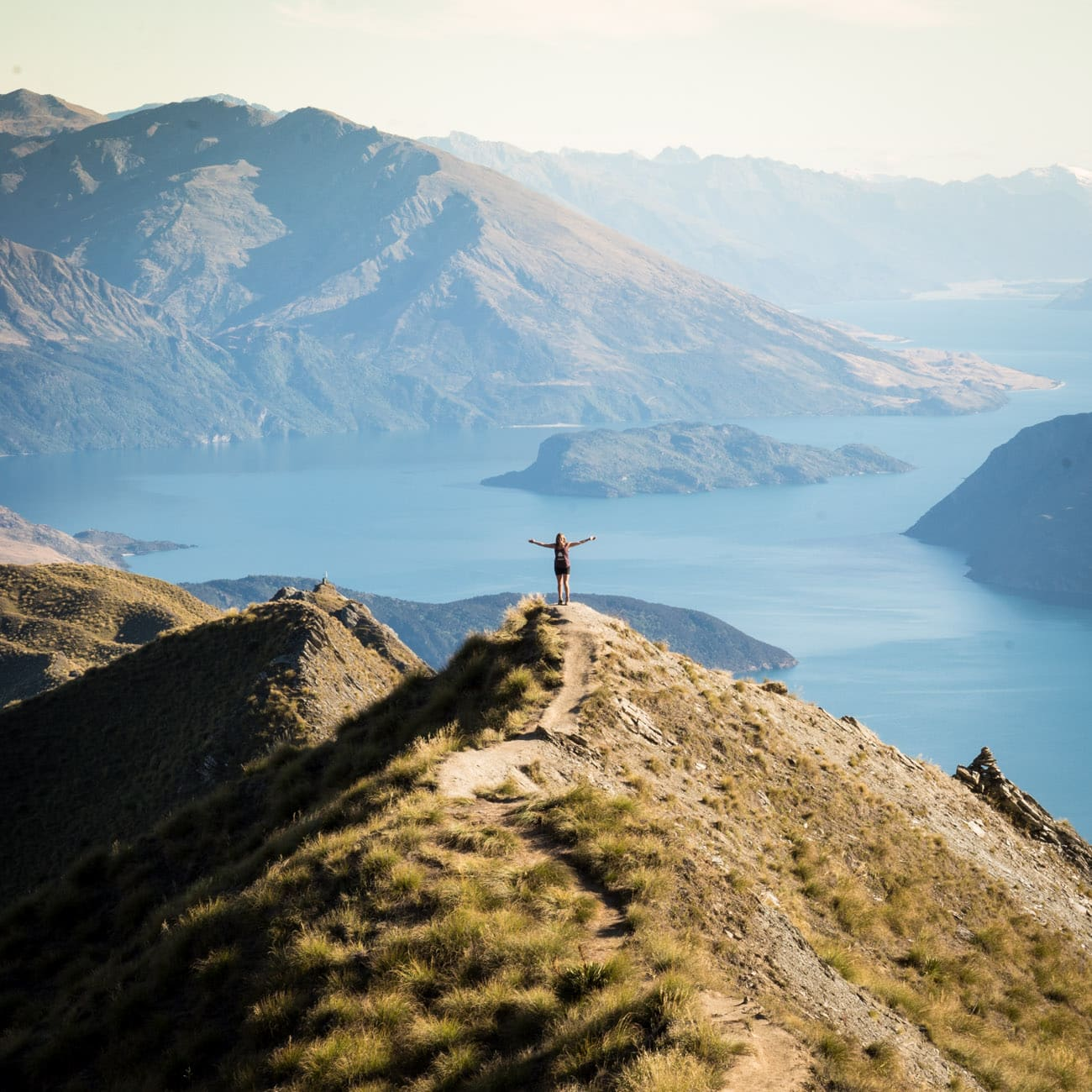 Lookout on Mount Roy in Wanaka