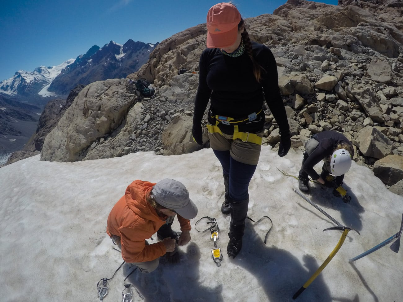 During my New Zealand trip, I took a 4-day intro to mountaineering course on Mount Cook with Alpine Recreation. We learned how to wear crampons, use an ice axe, and safely cross a glacier. Read my review and get the full details on the course.