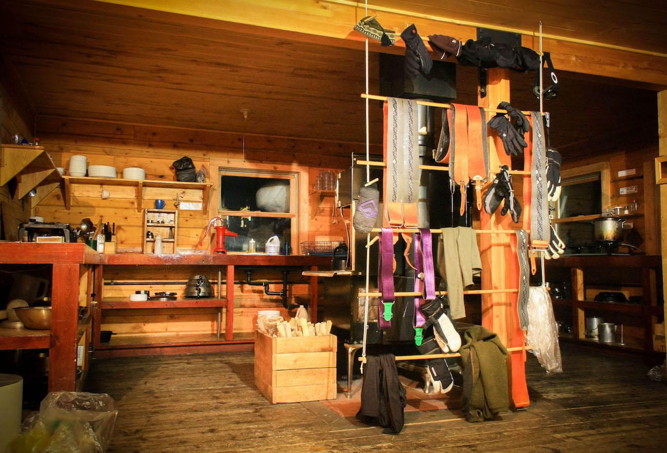 Detailed Gear Checklist for a winter backcountry hut trip