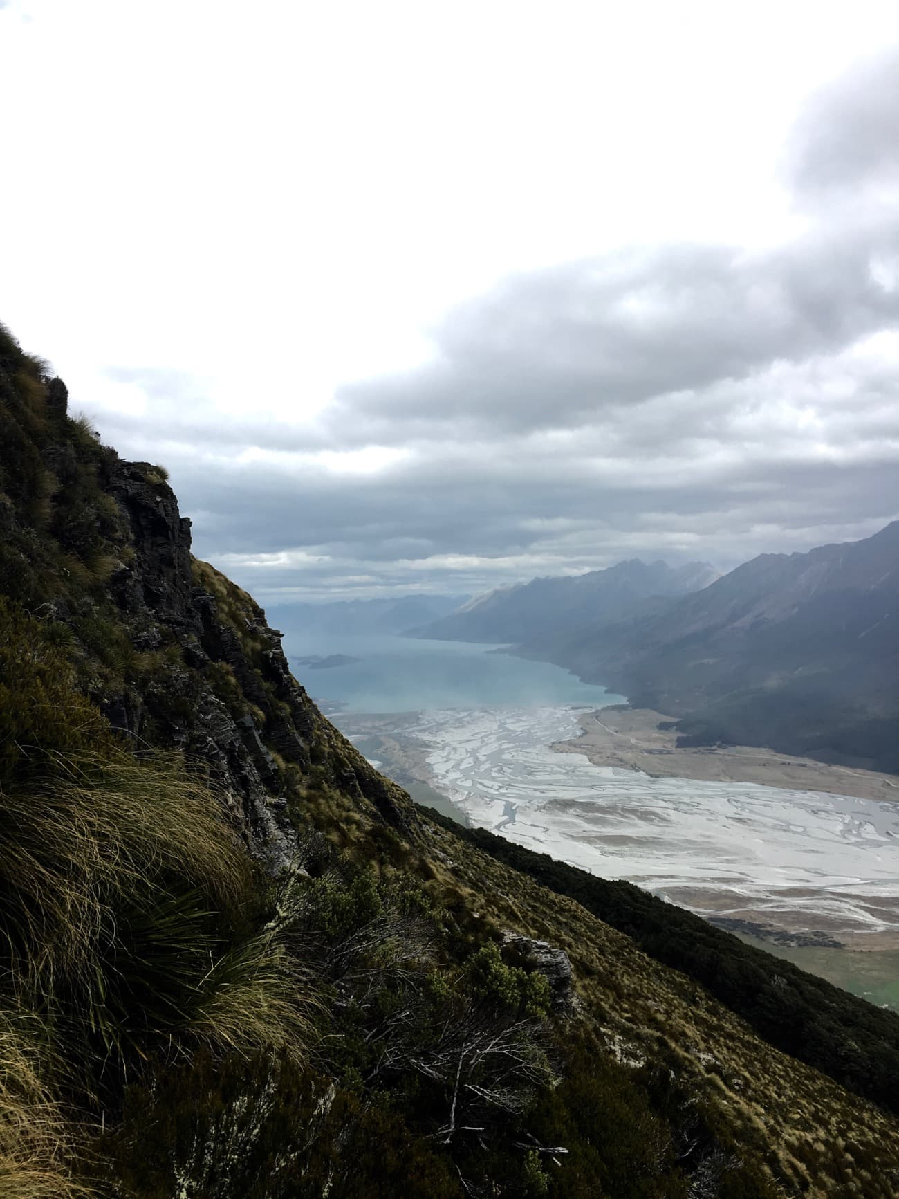 The hike to Mt. Alfred in Glenorchy