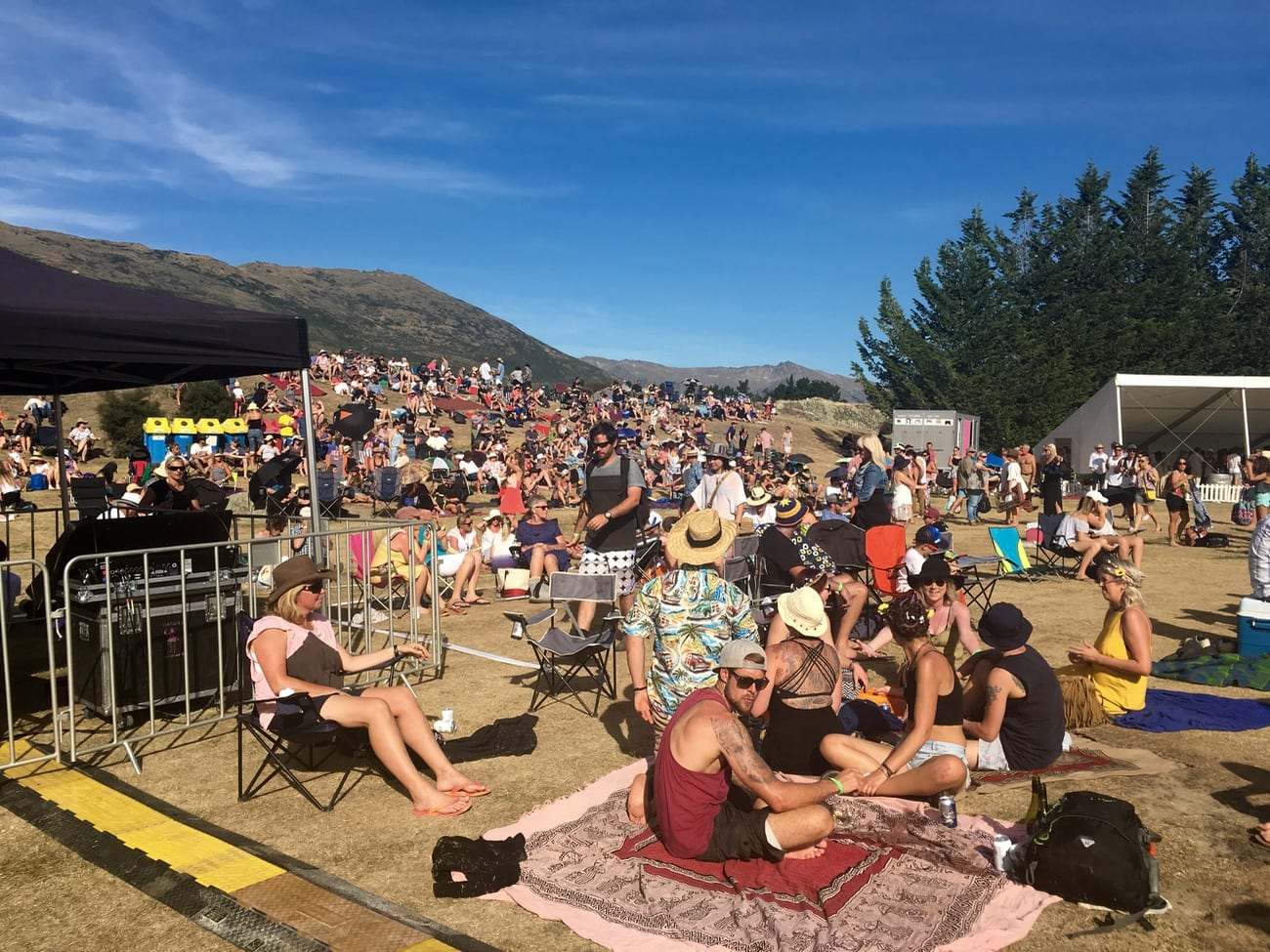 Fat Freddy's Drop Concert at Peregrine Winery in Queenstown