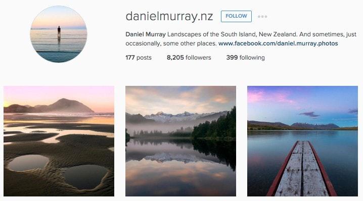 Top New Zealand Instagrammers