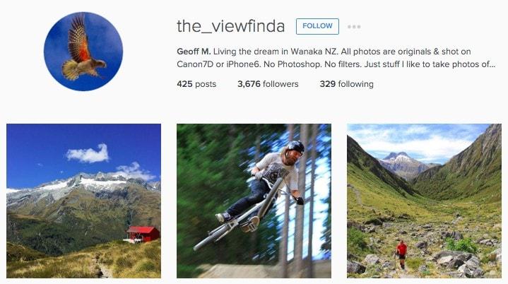 Best New Zealand Instagrammers: the_viewfinda