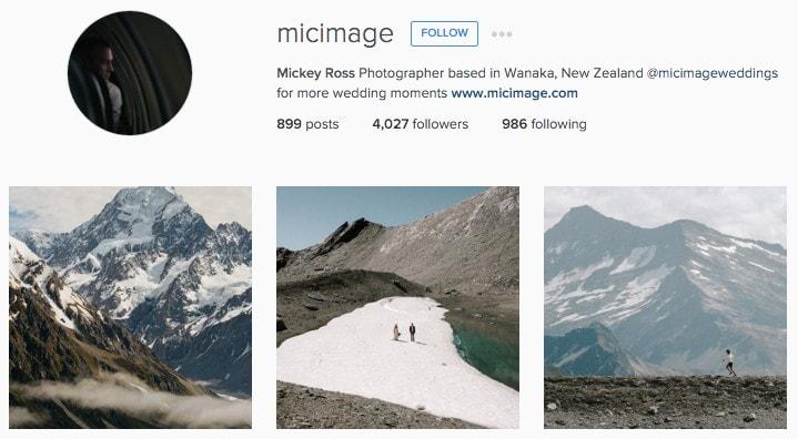 Best New Zealand Instagrammers: Micimage