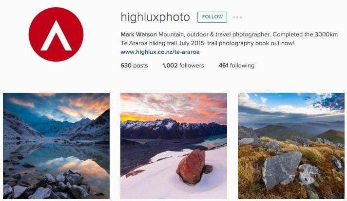 Best New Zealand Instagrammers: Mark Watson
