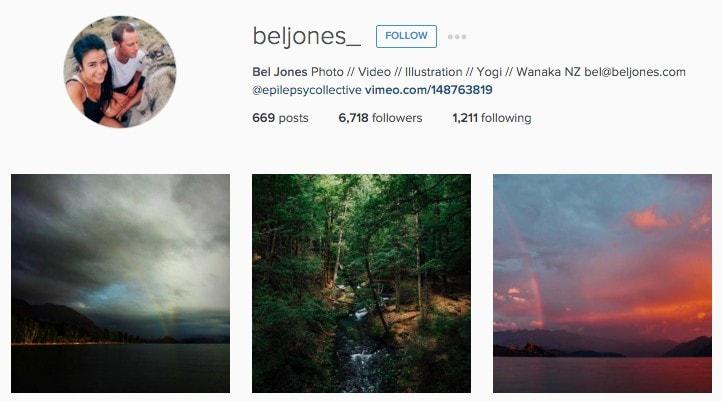 Best New Zealand Instagrammers: Beljones_