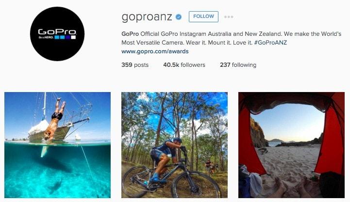 Best New Zealand Instagram Accounts: GoProANZ