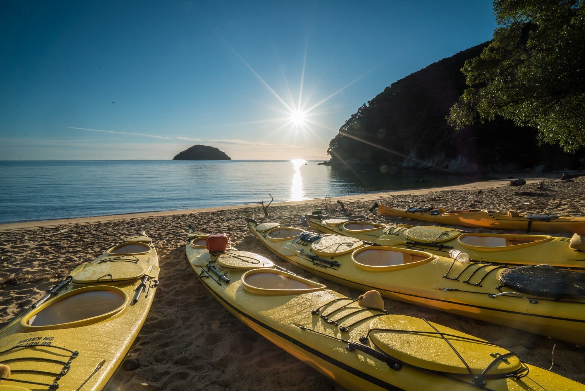 Kayaking New Zealand's Abel Tasman Coast