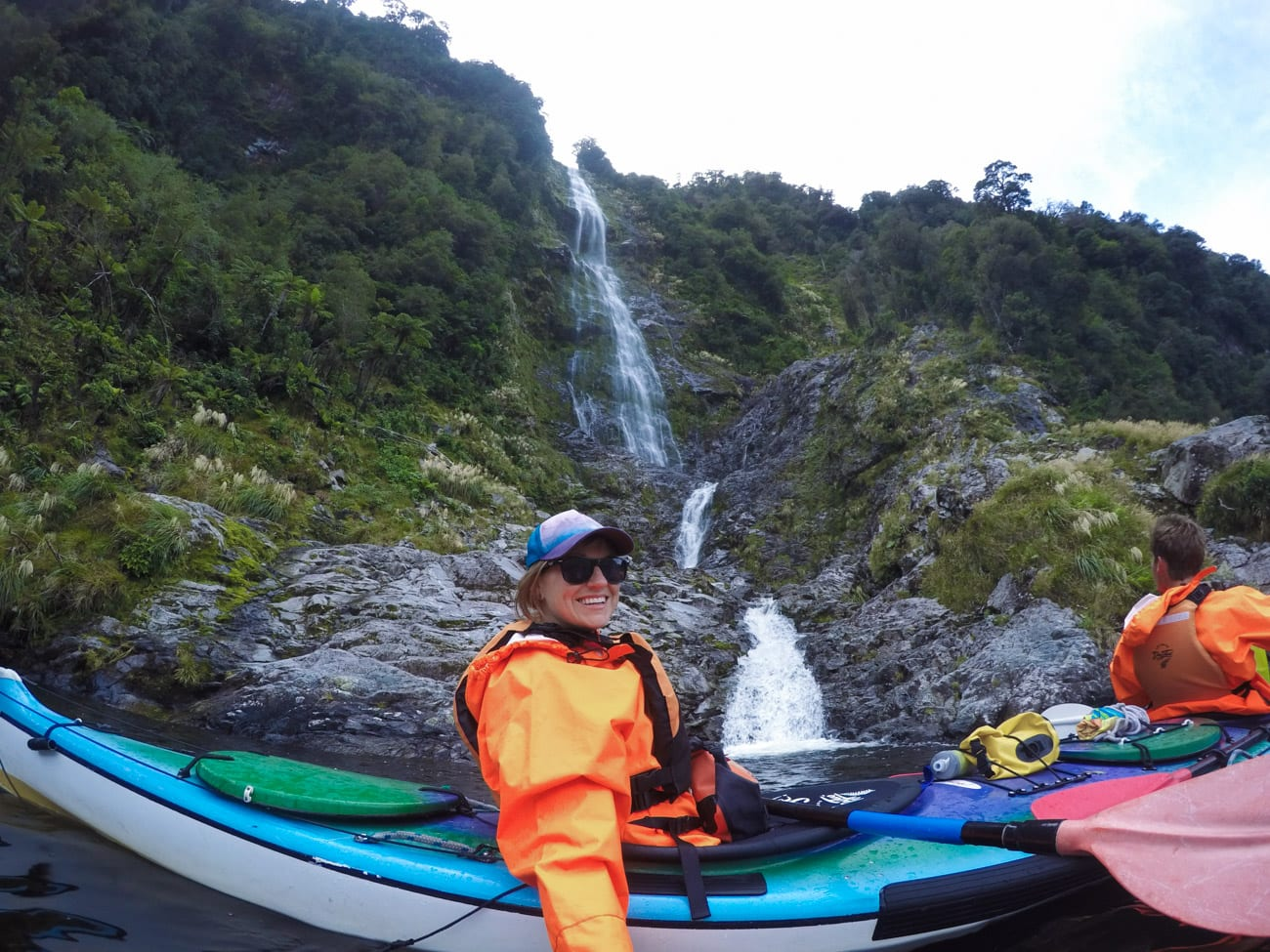 Doubtful Sound has hundreds of temporary waterfalls that are only there after a big rainfall.