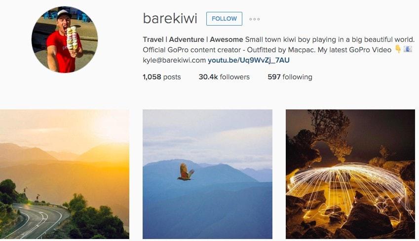 Best New Zealand Instagrammers - BareKiwi