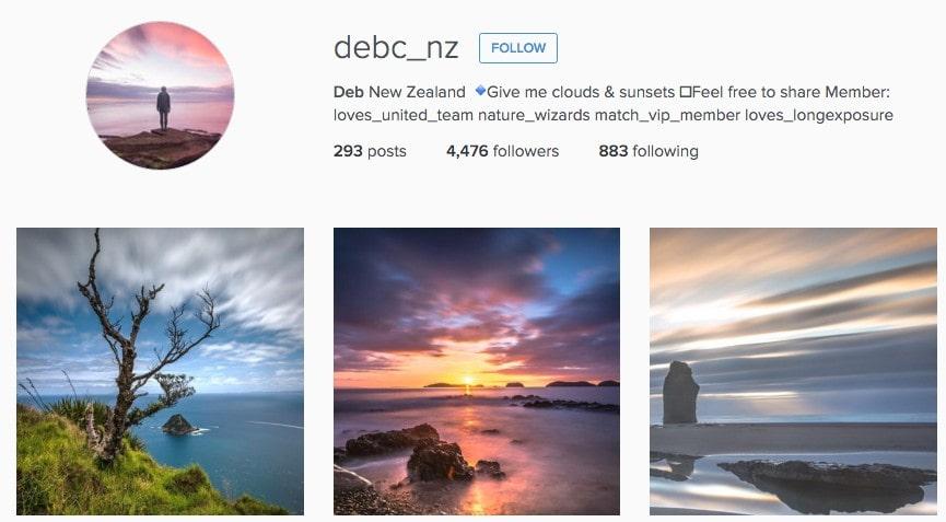 Best Instagrammers in New Zealand: Debc_nz