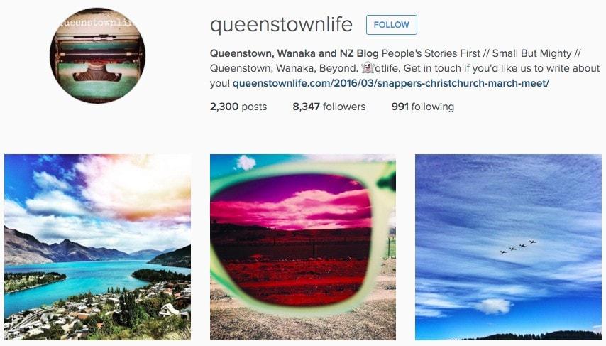 Top New Zealand Instagram Accounts