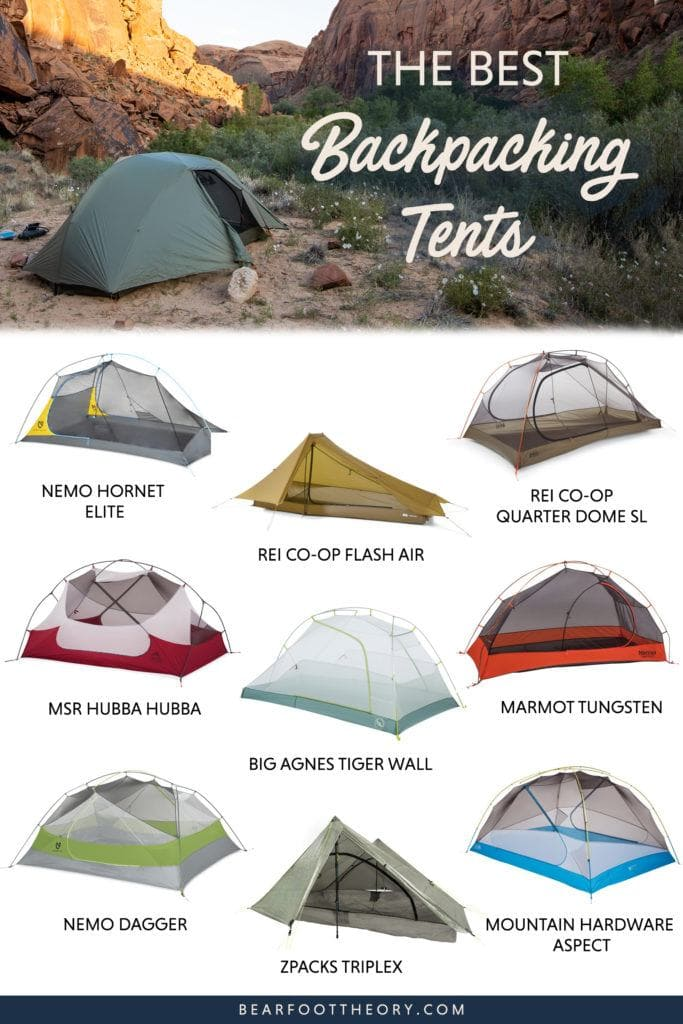 Get recommendations for the best backpacking tents and learn what key features to consider when choosing a new lightweight tent for the backcountry.