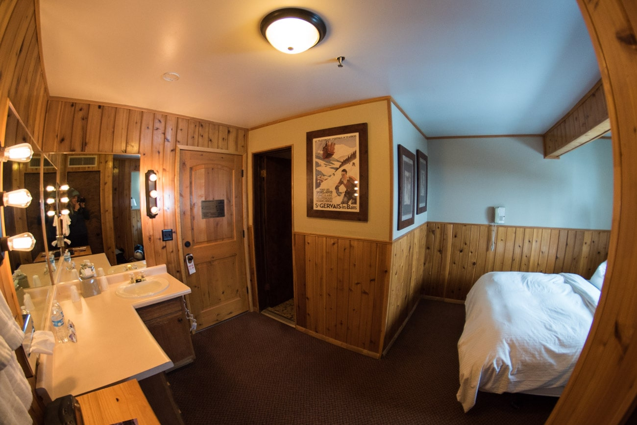 Photo of one of the Alpine rooms at the Alta Peruvian Lodge