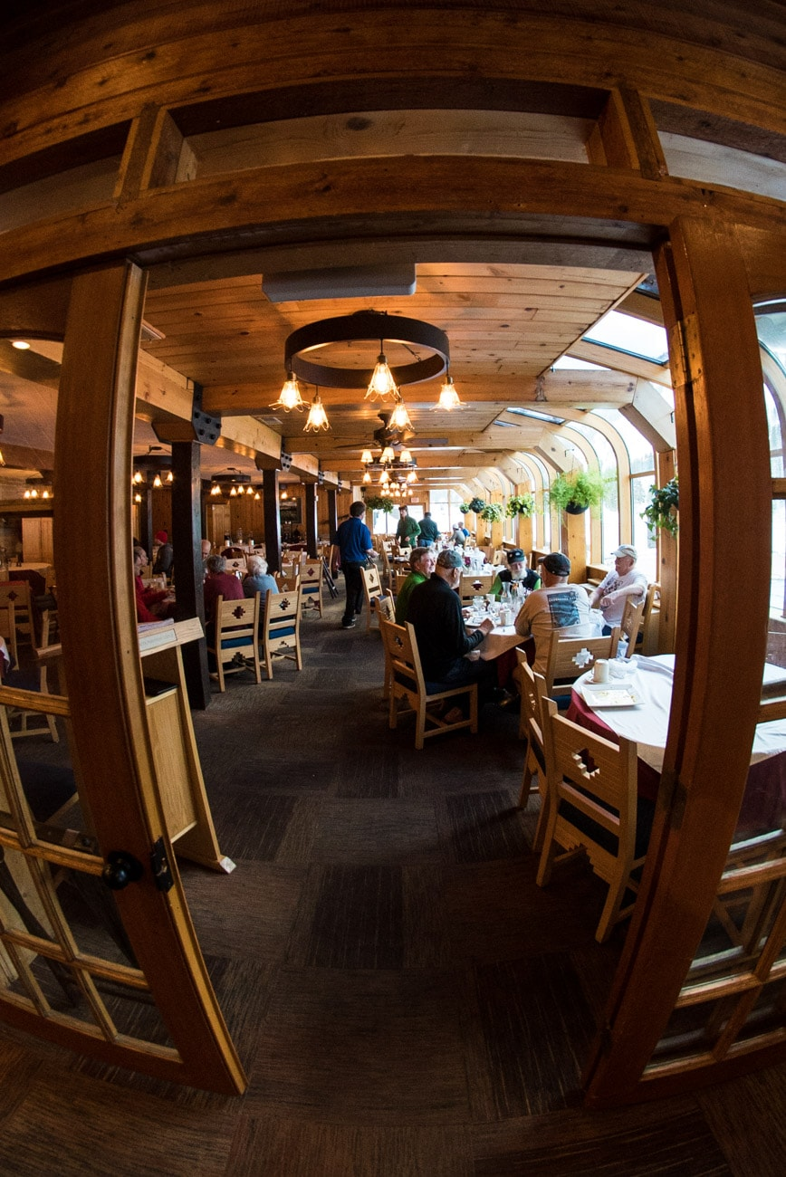 The dining room at the Alta Peruvian Lodge: Click the link for more photos and a full review