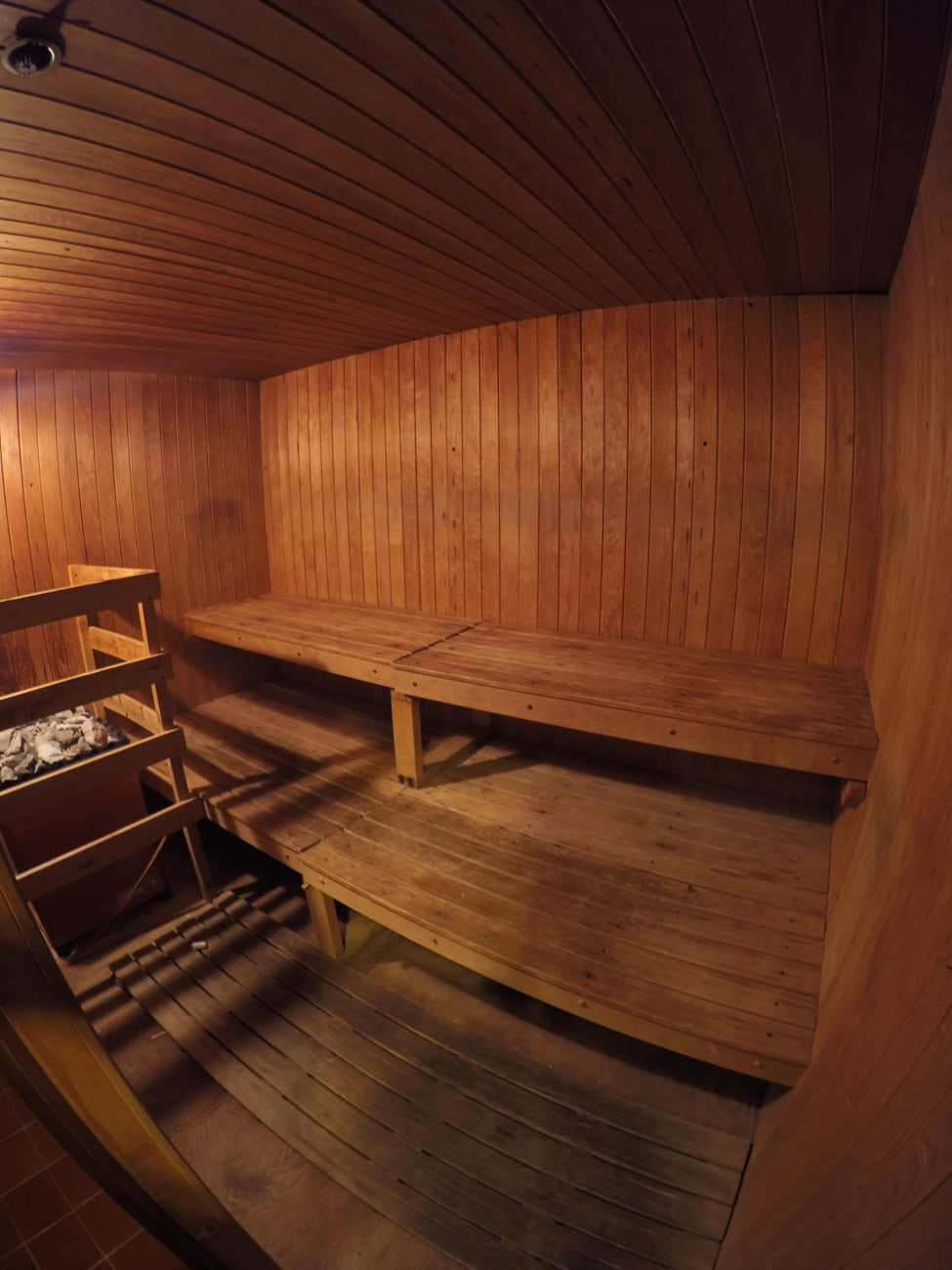 Amenities at the Alta Lodge include mens and womens saunas