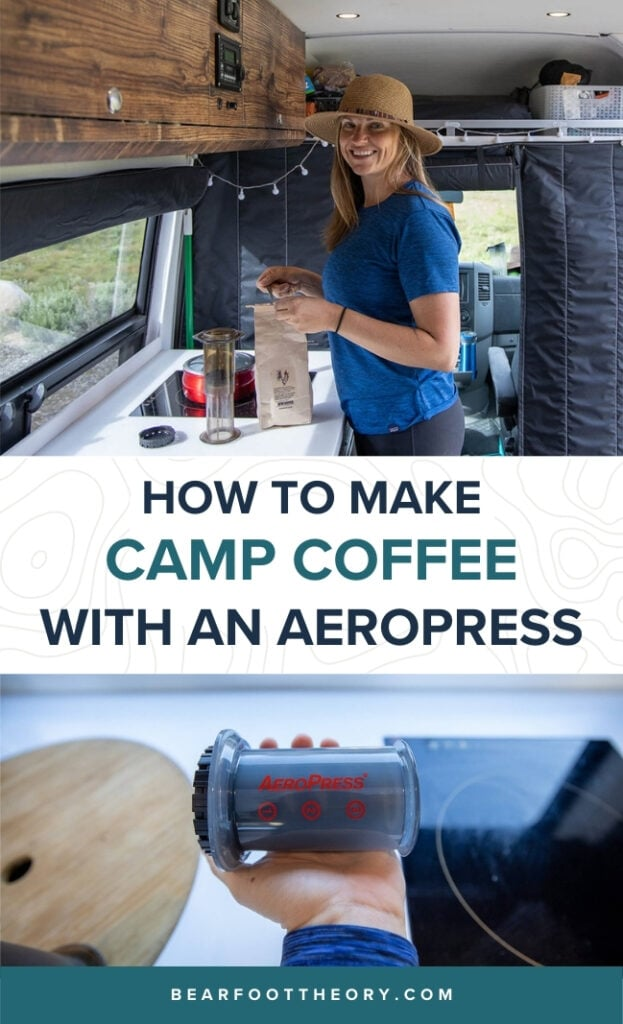 Get step-by-step instructions for making the a strong, tasty, and quick cup of coffee on the road using the Aeropress Go.