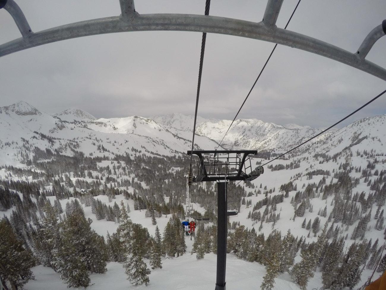 The Supreme Lift at Alta Ski Area
