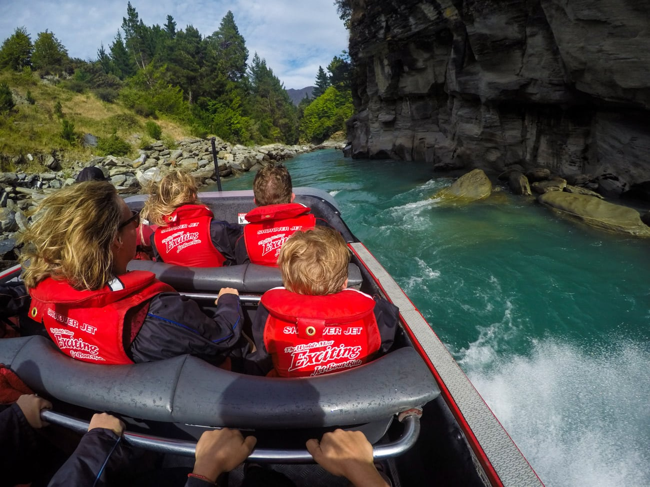 Things to do in Queenstown: Shotover Canyon Jet boat ride