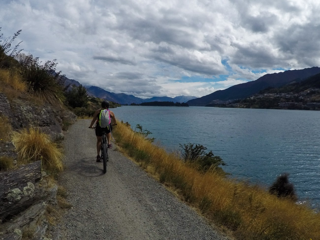 Things to do in Queenstown: Bike the Frankton Arm