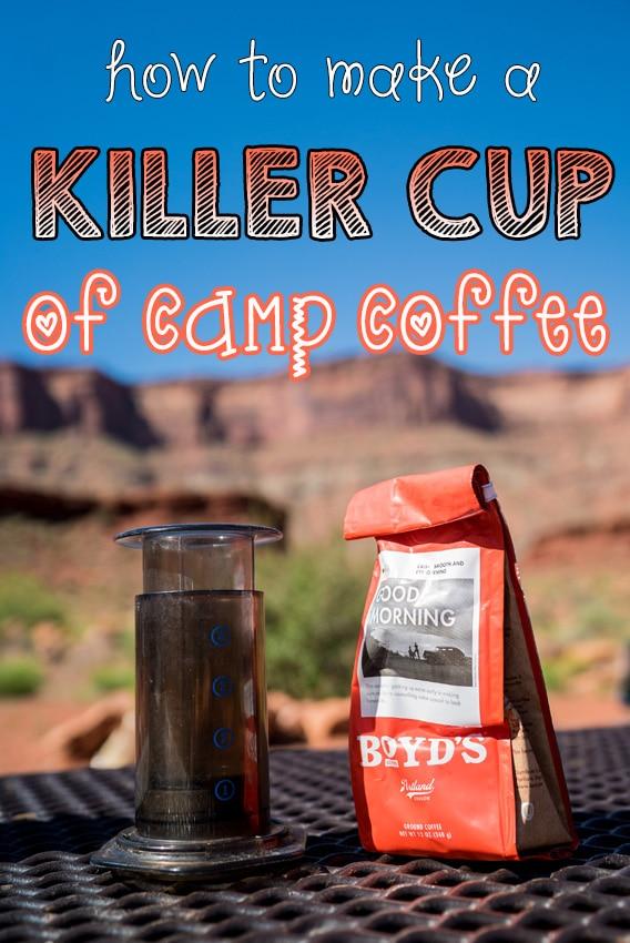 How to Make Killer Camp Coffee using an Aeropress
