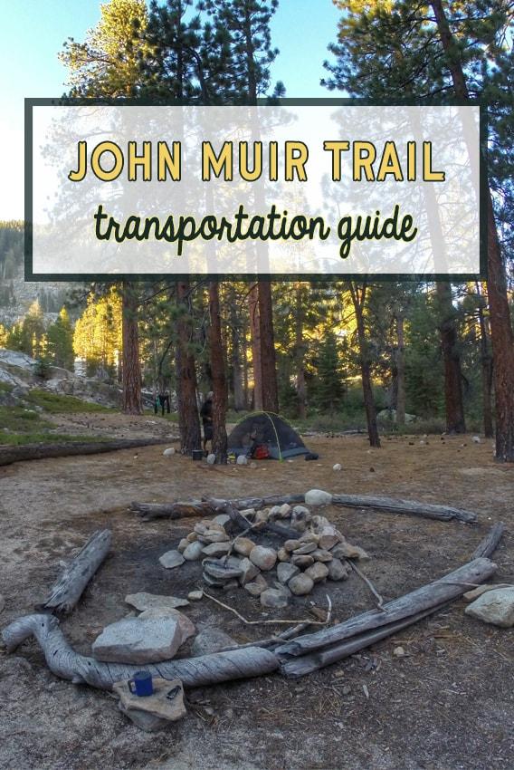 John Muir Trail transportation guide