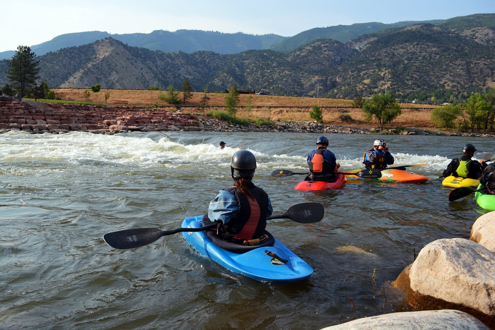 Best places to paddle board in Colorado this summer: Glenwood Springs Whitewater Park