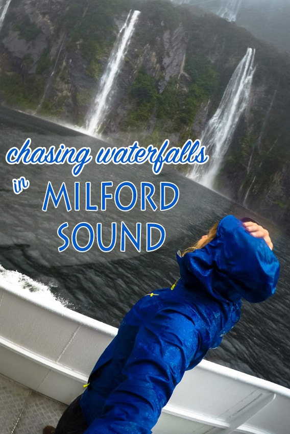 Chasing Waterfalls on Milford Sound with Cruise Milford