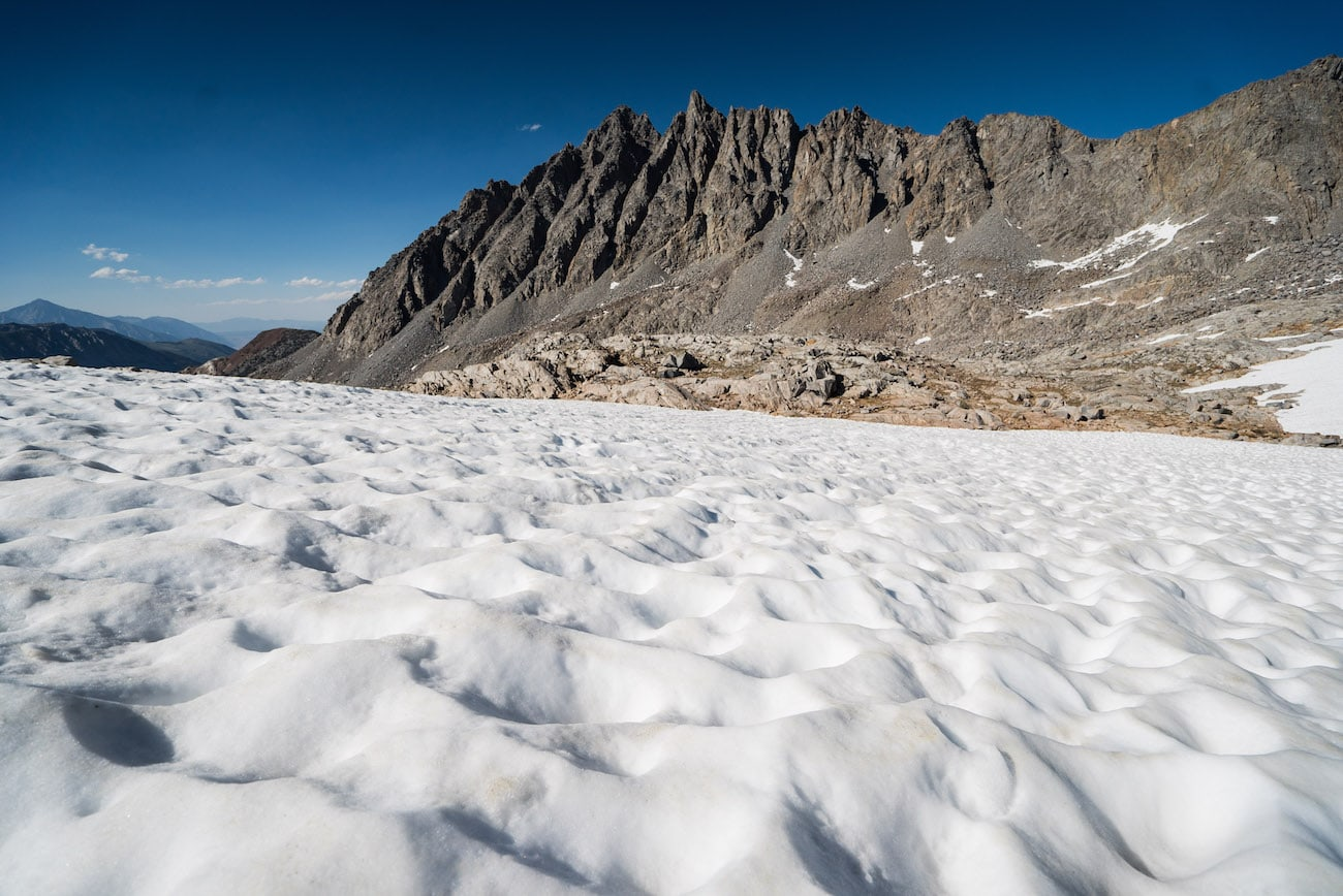Bishop Pass in California's Eastern Sierras