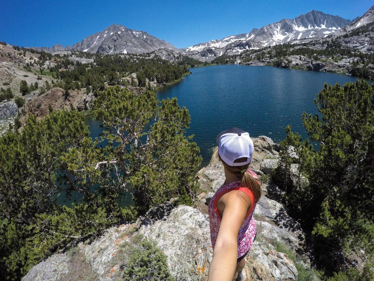 Long Lake near Bishop California