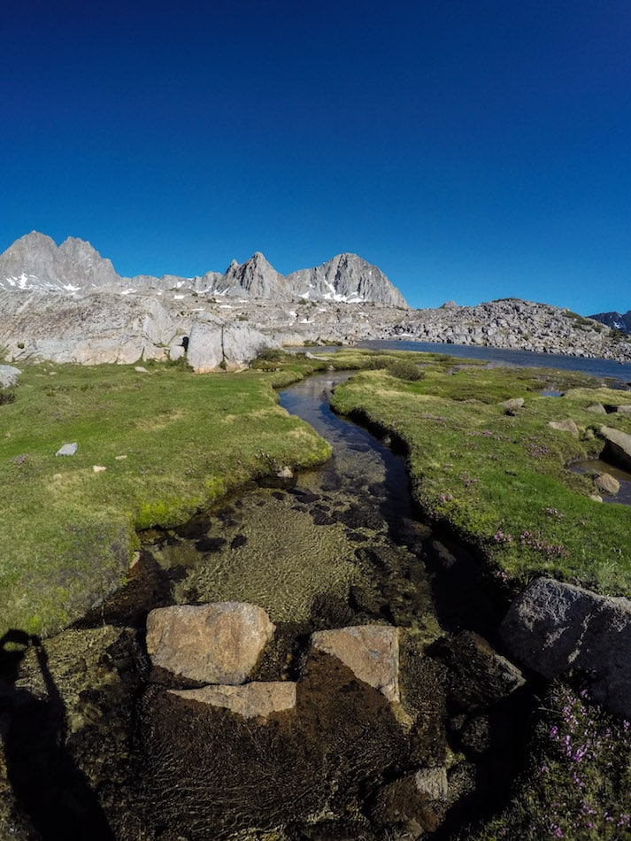 Dusy Basin in Kings Canyon National Park