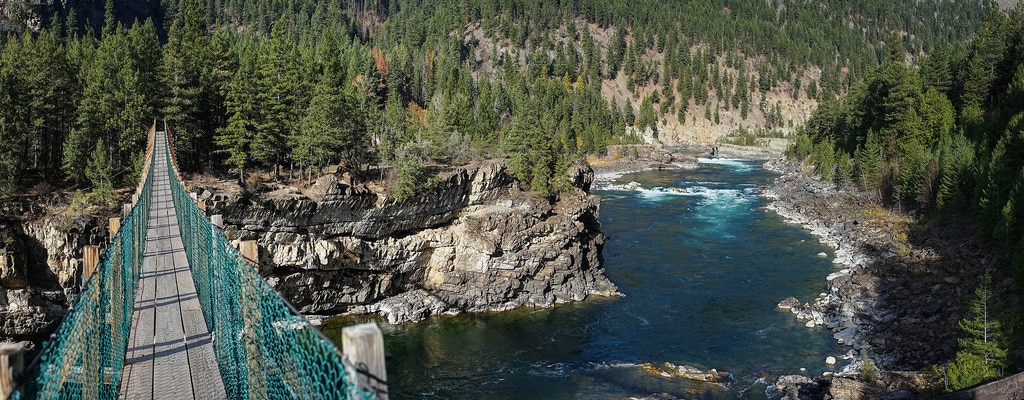 5 of the best Montana kayaking spots that are off the beaten path: Kootenai Falls
