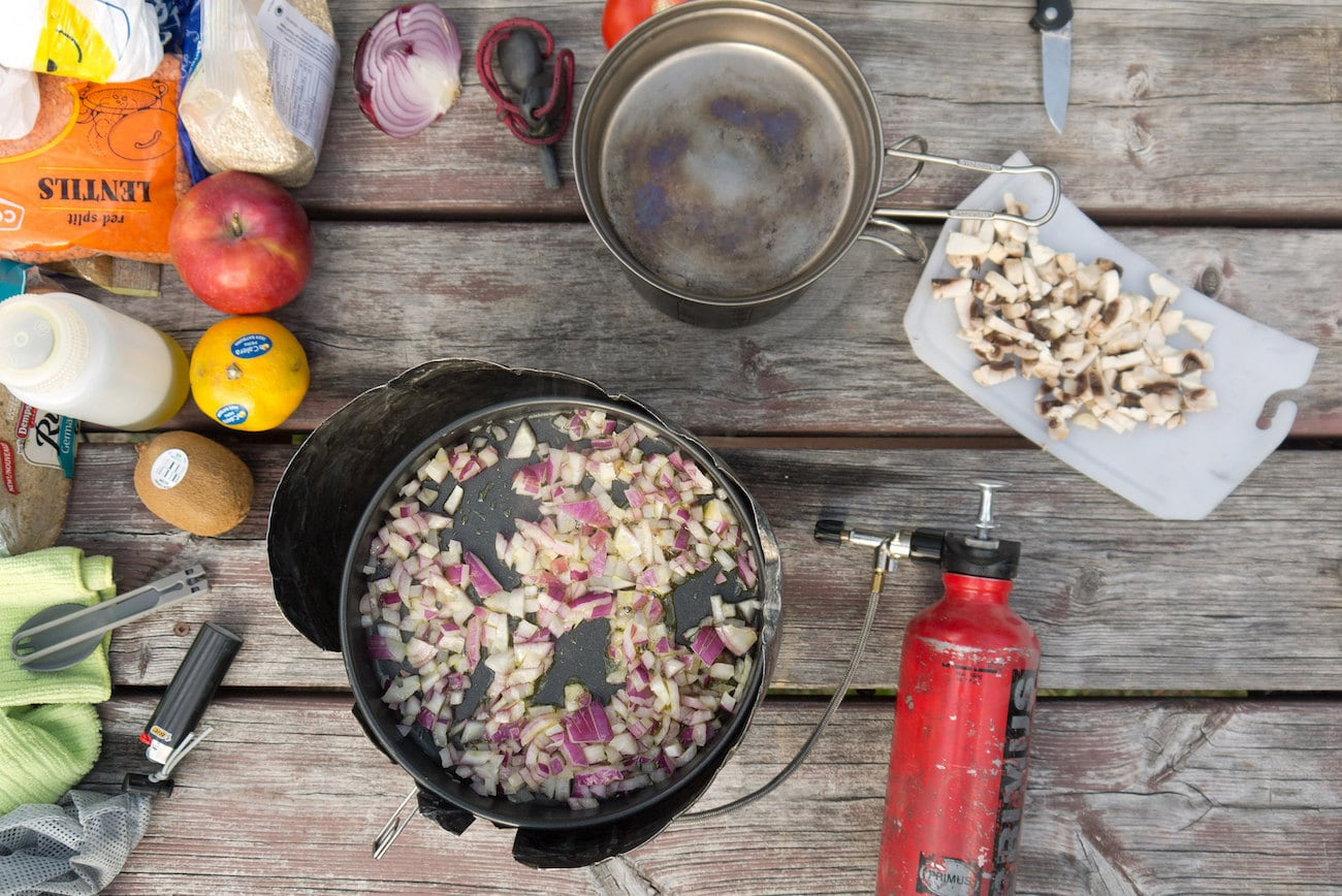 Cookware for a bikepacking trip