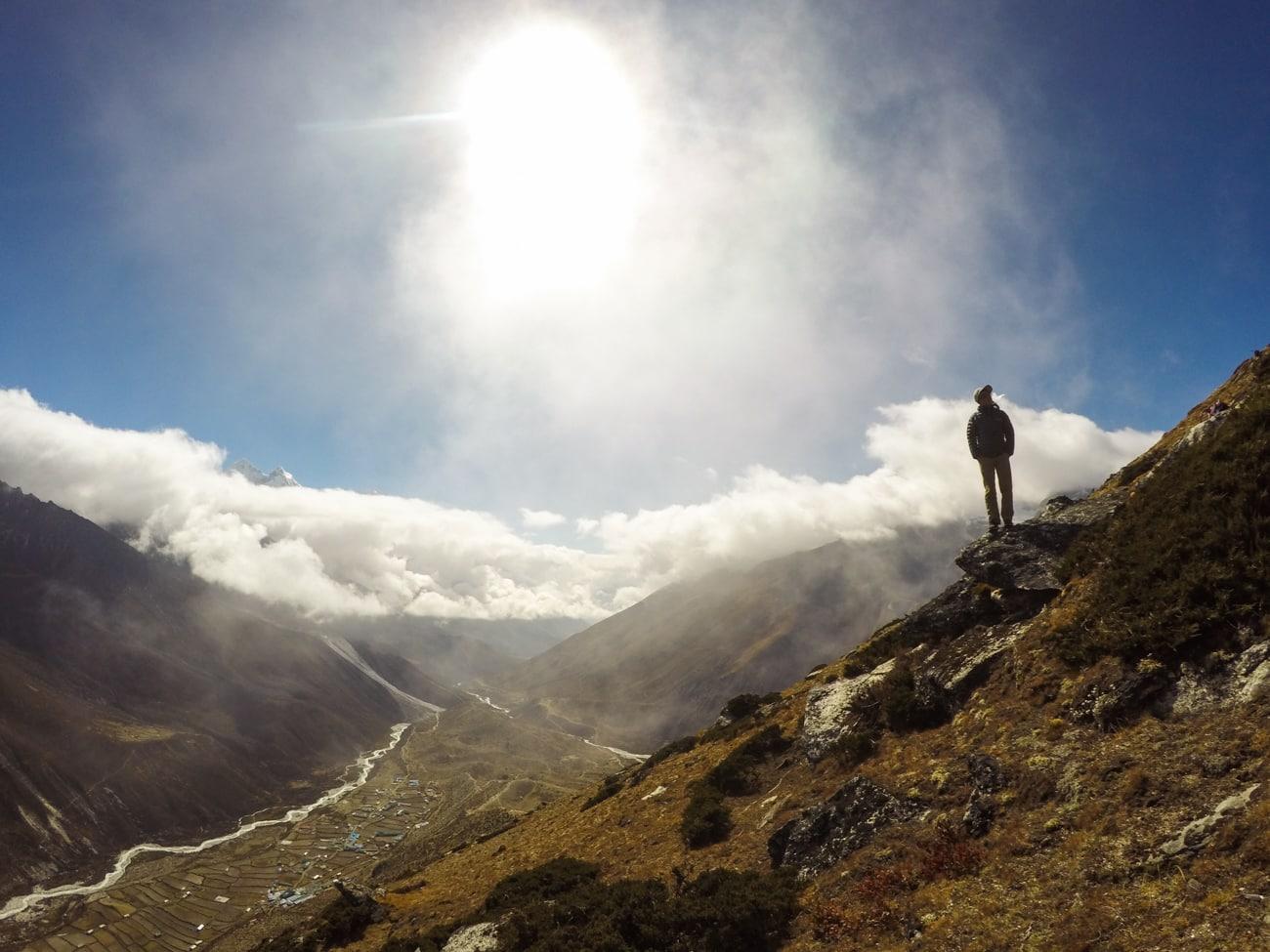 Everest Basecamp trek photos - Debouche