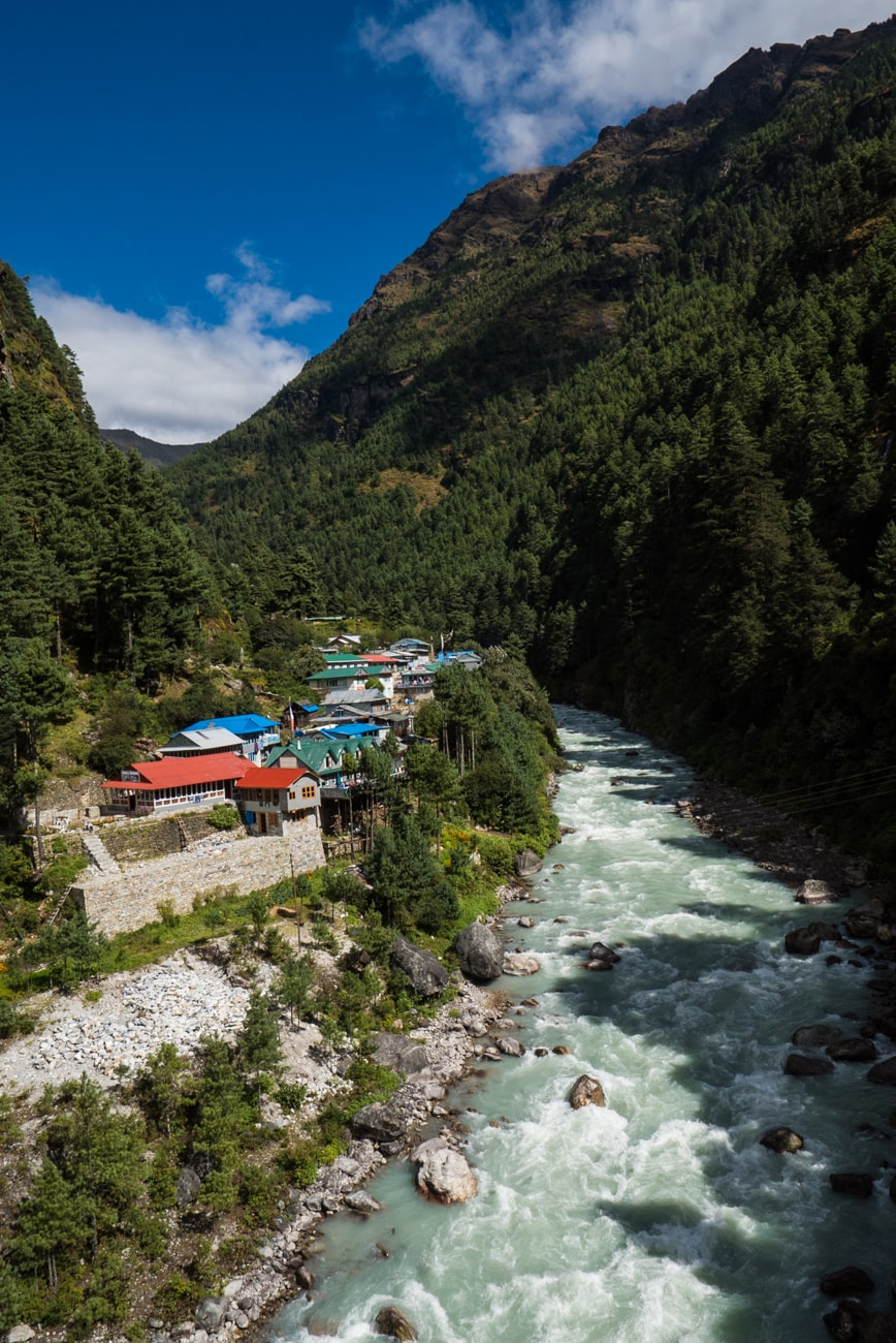 Everest basecamp trek photos - day 2 - sagarmatha national park