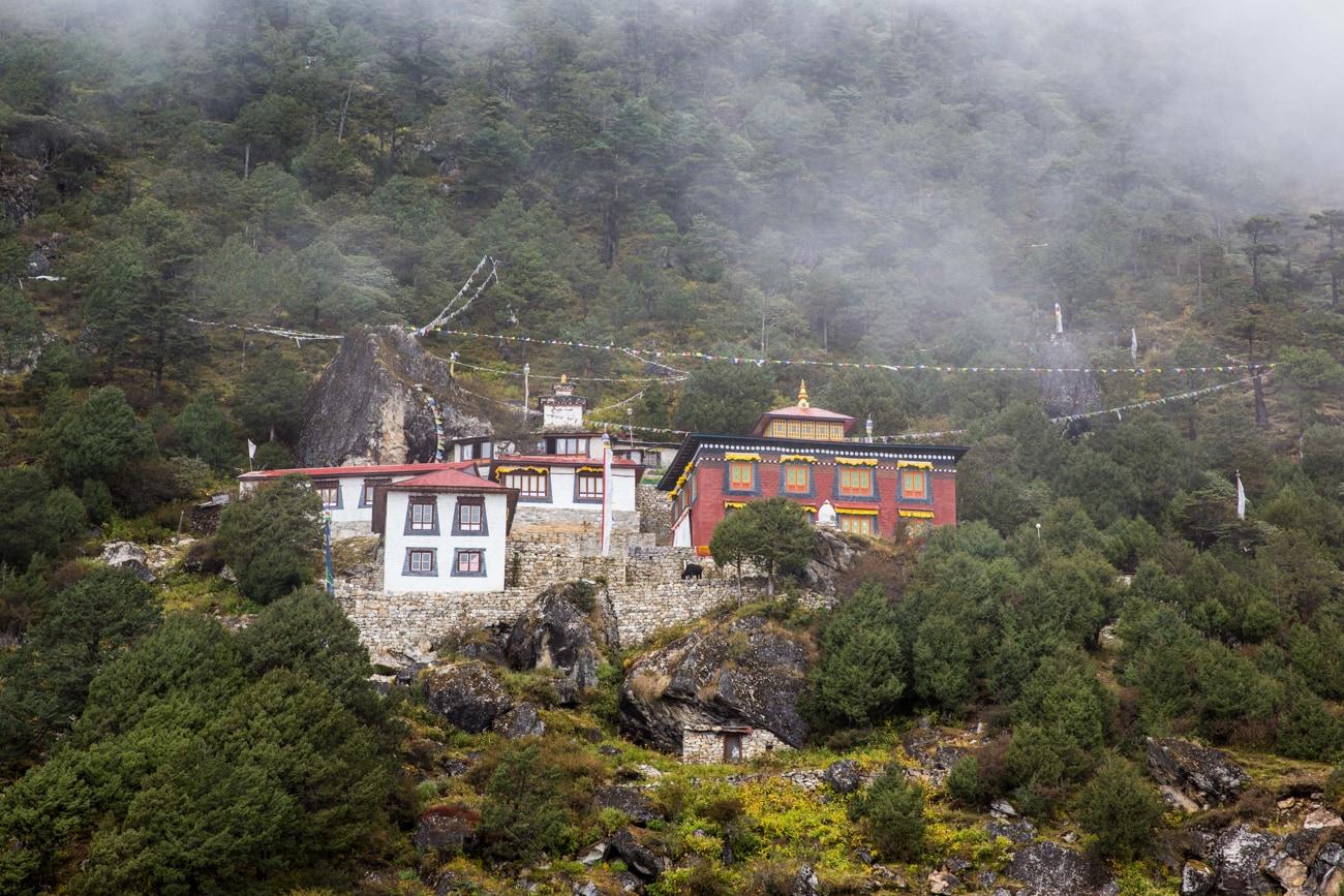 Everest basecamp trek - monastery