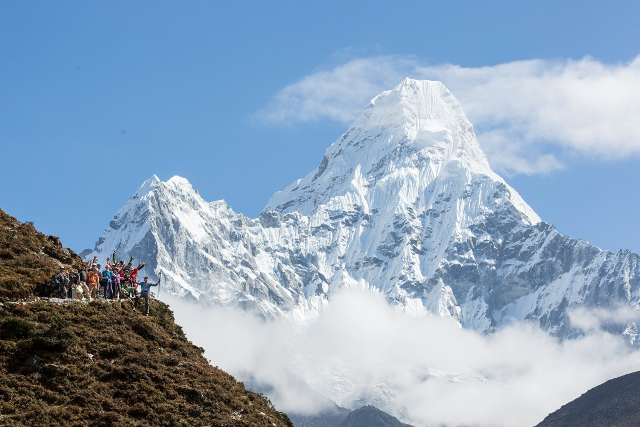 Everest Basecamp Trek photos - Ama Dablam