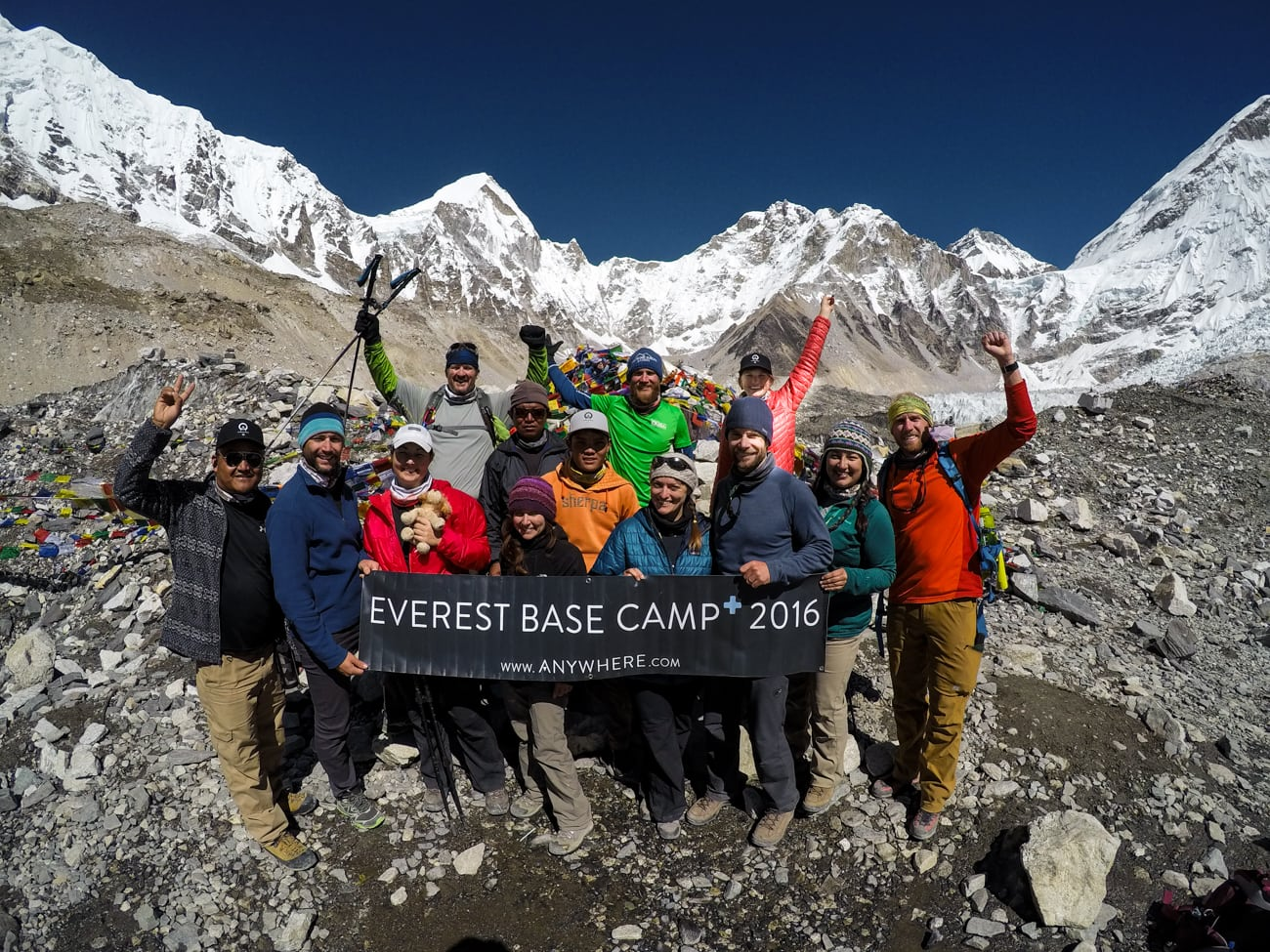 We made it to Everest Basecamp!