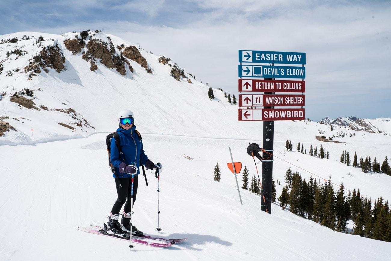 The East Baldy Traverse / Alta Ski Resort