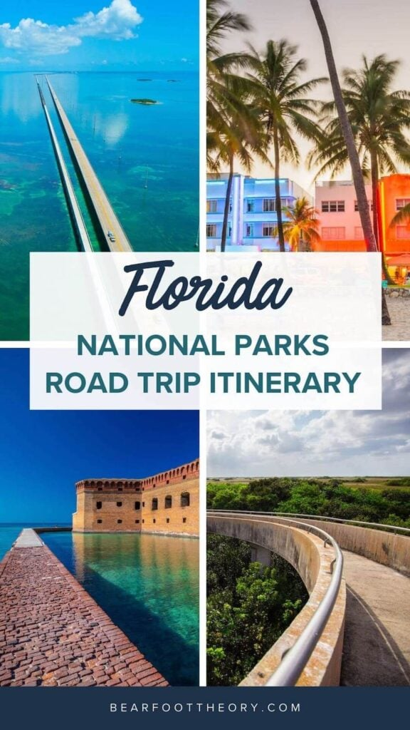 Plan your Florida National Parks itinerary with this 7-day road trip guide that visits Key Biscayne, Everglades & Dry Tortugas National Parks